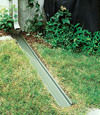 gutter drain extension installed in Little Rock, Arkansas